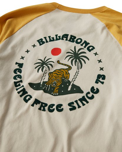 3 Bengal T-Shirt Grey M403VBBE Billabong