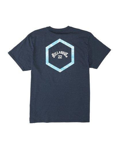 4 Access Short Sleeve T-Shirt Blue M4041BAC Billabong