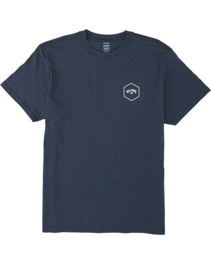 3 Access Short Sleeve T-Shirt Blue M4041BAC Billabong