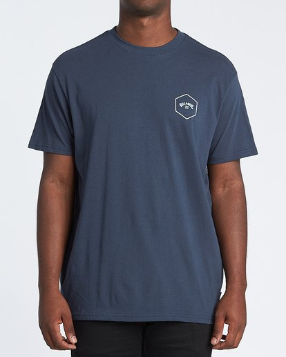 0 Access Short Sleeve T-Shirt Blue M4041BAC Billabong