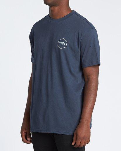 1 Access Short Sleeve T-Shirt Blue M4041BAC Billabong