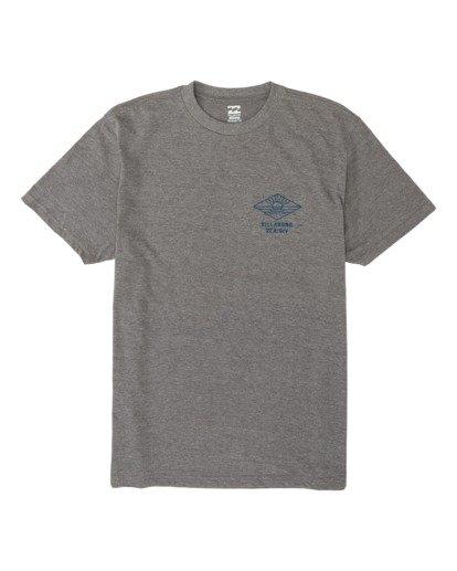 3 A Frame Short Sleeve T-Shirt Green M4041BAF Billabong