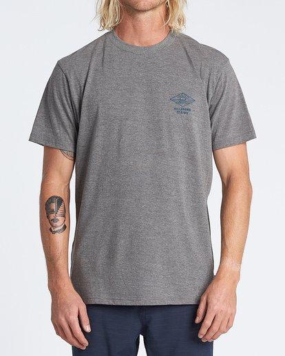 0 A Frame Short Sleeve T-Shirt Green M4041BAF Billabong