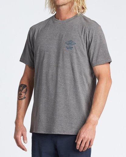 1 A Frame Short Sleeve T-Shirt Green M4041BAF Billabong
