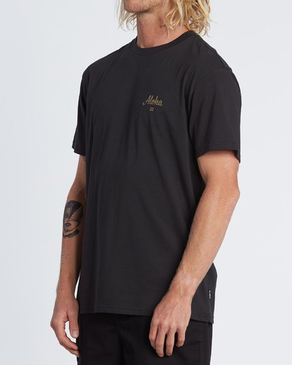 1 Aloha Short Sleeve T-Shirt Black M4041BAL Billabong