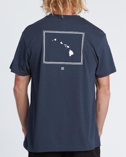 2 Aloha Short Sleeve T-Shirt Blue M4041BAL Billabong