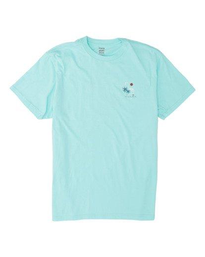 3 Apocalypse Short Sleeve T-Shirt Grey M4041BAP Billabong