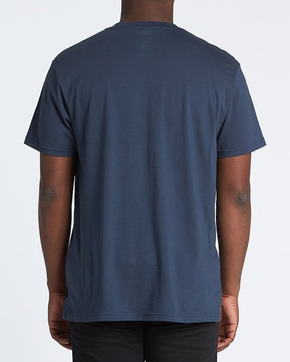2 Apocalypse Short Sleeve T-Shirt Blue M4041BAP Billabong