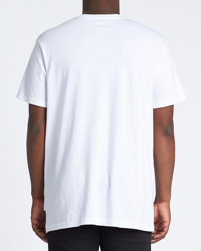 2 Bikini Short Sleeve T-Shirt White M4041BBN Billabong