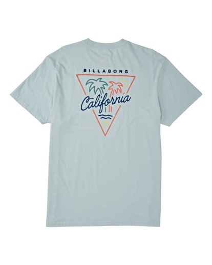 4 Cali Short Sleeve T-Shirt Blue M4041BCA Billabong