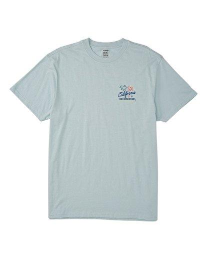 3 Cali Short Sleeve T-Shirt Blue M4041BCA Billabong