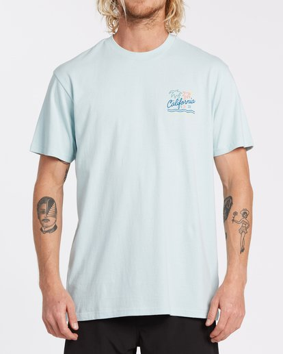 0 Cali Short Sleeve T-Shirt Blue M4041BCA Billabong