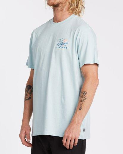 1 Cali Short Sleeve T-Shirt Blue M4041BCA Billabong