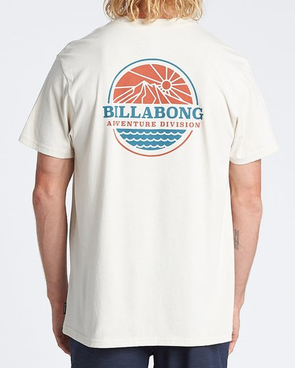 2 Daybreak Short Sleeve T-Shirt Brown M4041BDA Billabong