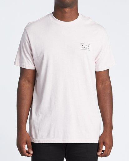 2 Diecut Short Sleeve T-Shirt Purple M4041BDC Billabong