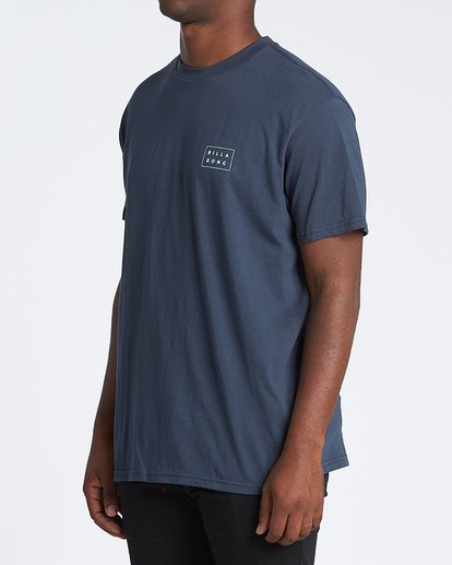 1 Diecut Short Sleeve T-Shirt Blue M4041BDC Billabong