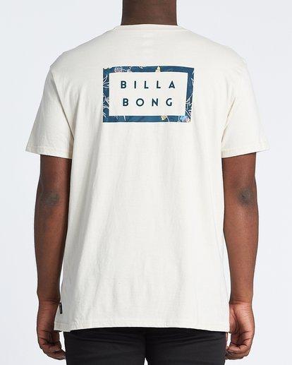 0 Diecut Short Sleeve T-Shirt Brown M4041BDC Billabong