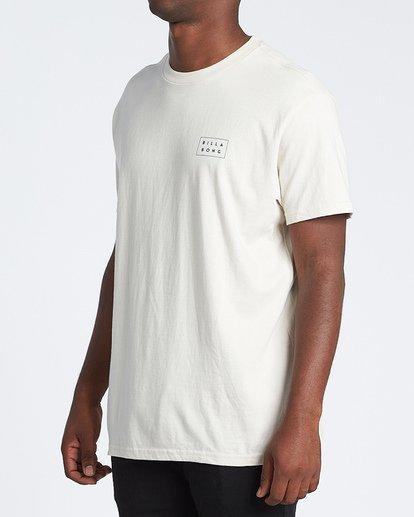 1 Diecut Short Sleeve T-Shirt Brown M4041BDC Billabong