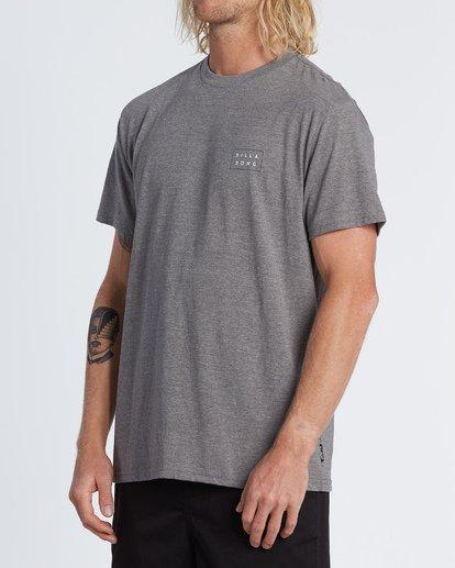 1 Diecut Short Sleeve T-Shirt Green M4041BDE Billabong