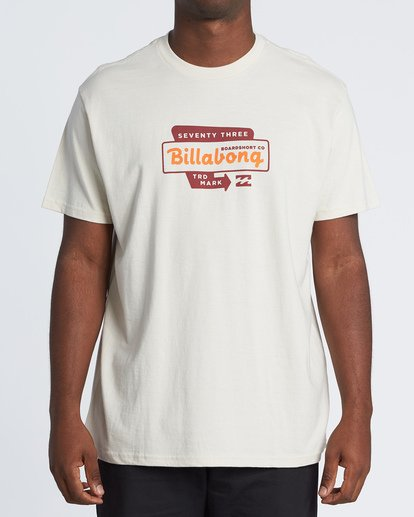 0 Driveway Short Sleeve T-Shirt Brown M4041BDR Billabong