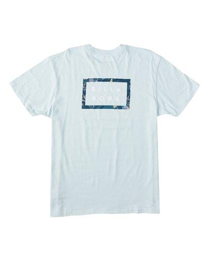 4 EC-Diecut Short Sleeve T-Shirt Brown M4041BEC Billabong