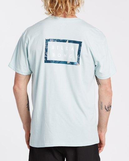 2 EC-Diecut Short Sleeve T-Shirt Brown M4041BEC Billabong