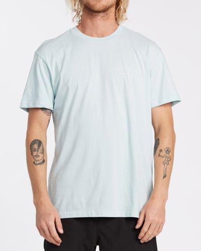 0 EC-Diecut Short Sleeve T-Shirt Brown M4041BEC Billabong