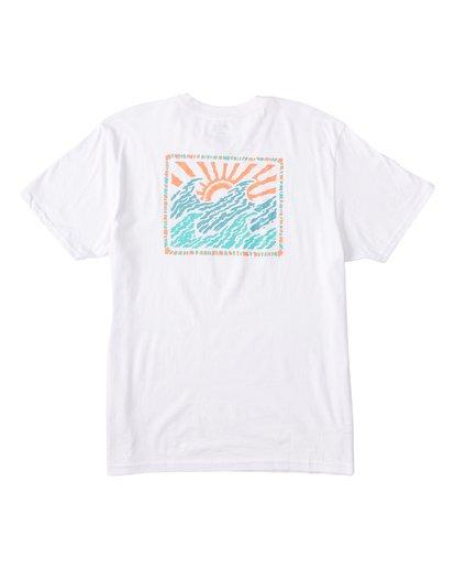 4 EC-Dawner Short Sleeve T-Shirt White M4041BED Billabong