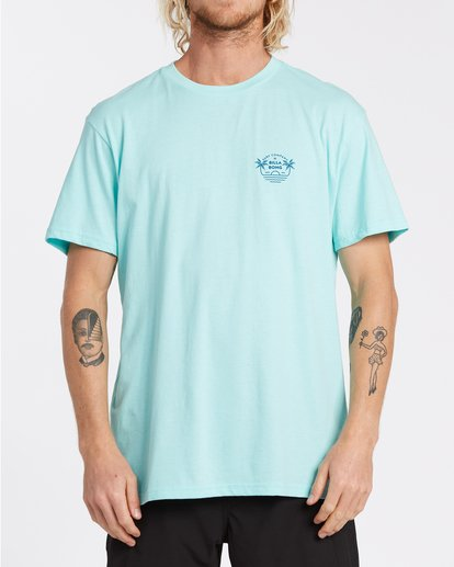0 EC-Horizon Short Sleeve T-Shirt Grey M4041BEH Billabong