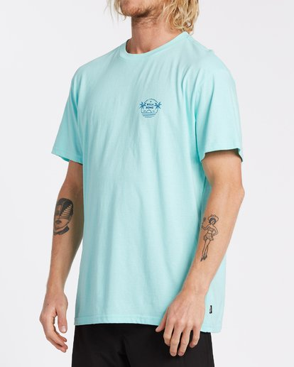 1 EC-Horizon Short Sleeve T-Shirt Grey M4041BEH Billabong