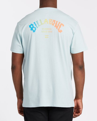 2 Florida Arch Short Sleeve T-Shirt Blue M4041BFA Billabong