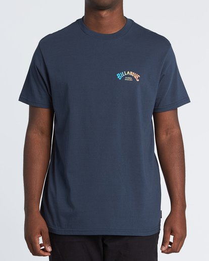 0 Florida Arch Short Sleeve T-Shirt Blue M4041BFA Billabong
