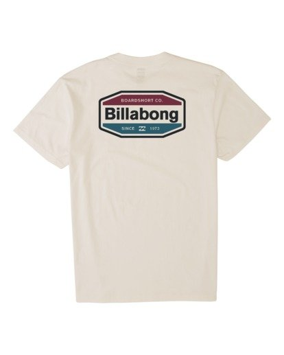 4 Gold Coast Short Sleeve T-Shirt Brown M4041BGC Billabong