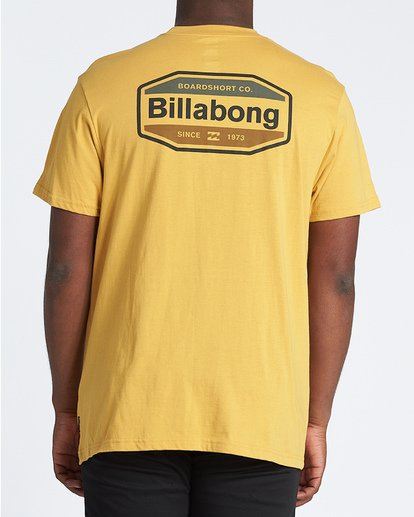 2 Gold Coast Short Sleeve T-Shirt Yellow M4041BGC Billabong