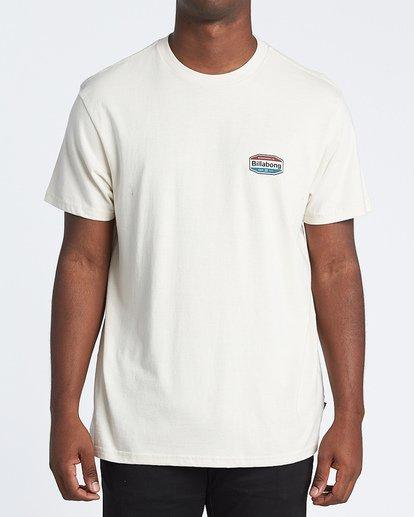 0 Gold Coast Short Sleeve T-Shirt Brown M4041BGC Billabong