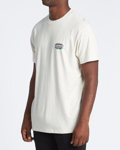 1 Gold Coast Short Sleeve T-Shirt Brown M4041BGC Billabong