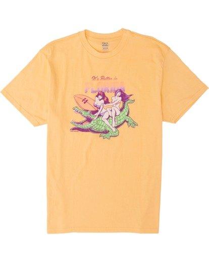 3 Its Better Short Sleeve T-Shirt  M4041BIB Billabong
