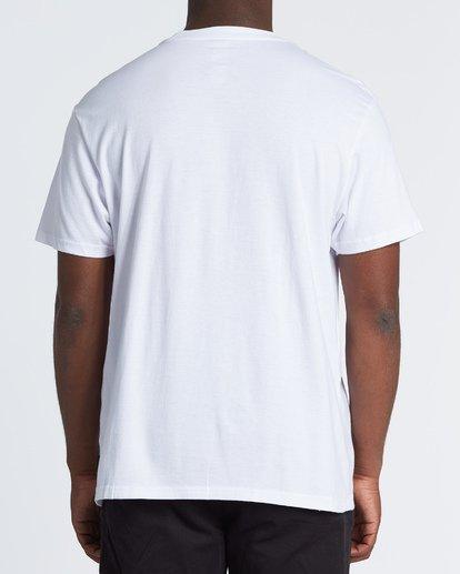 2 Its Better Short Sleeve T-Shirt White M4041BIB Billabong