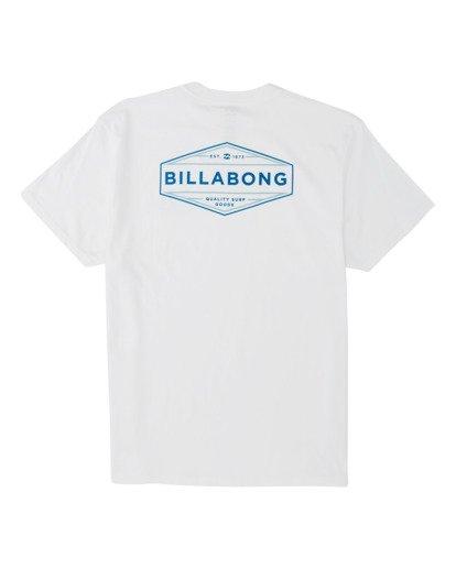 4 Liner Short Sleeve T-Shirt White M4041BLI Billabong