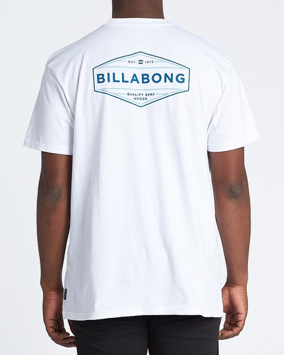 2 Liner Short Sleeve T-Shirt White M4041BLI Billabong