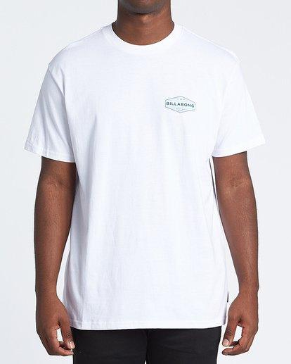 0 Liner Short Sleeve T-Shirt White M4041BLI Billabong
