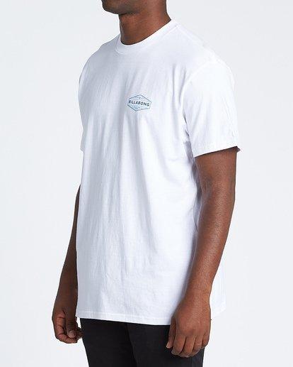 1 Liner Short Sleeve T-Shirt White M4041BLI Billabong