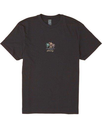 3 Mirage Short Sleeve T-Shirt Black M4041BMI Billabong