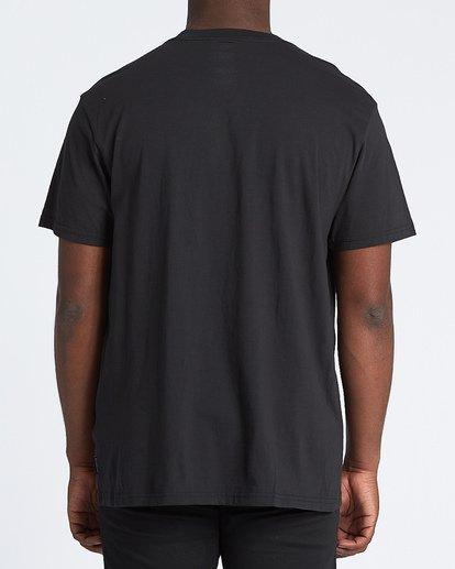 2 Mirage Short Sleeve T-Shirt Black M4041BMI Billabong