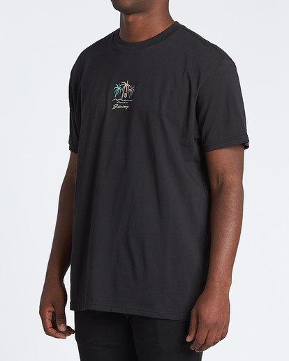 1 Mirage Short Sleeve T-Shirt Black M4041BMI Billabong