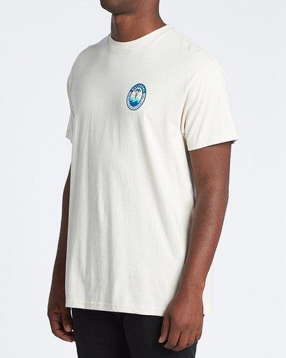 1 Palmer Short Sleeve T-Shirt White M4041BPA Billabong