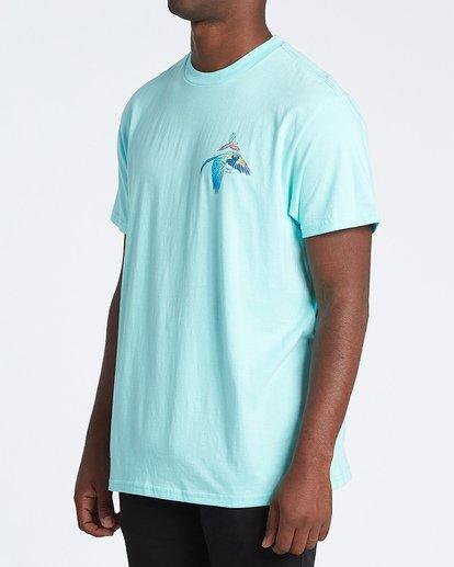 1 Parrot Bay Short Sleeve T-Shirt Grey M4041BPB Billabong