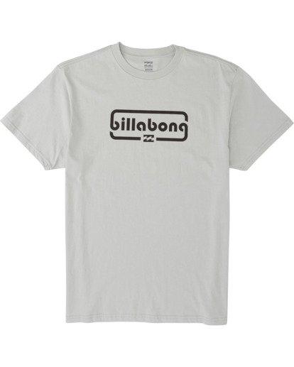 3 Repeat Short Sleeve T-Shirt Grey M4041BRE Billabong