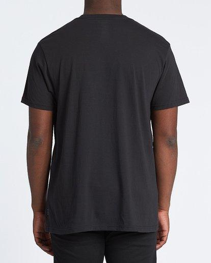 2 Repeat Short Sleeve T-Shirt Black M4041BRE Billabong