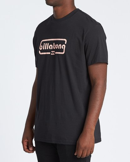 1 Repeat Short Sleeve T-Shirt Black M4041BRE Billabong